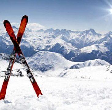Berg und Ski